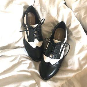 Black & White Oxfords